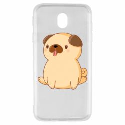 Чехол для Samsung J7 2017 Little pug