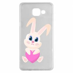 Чехол для Samsung A5 2016 Little rabbit with a heart
