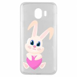 Чехол для Samsung J4 Little rabbit with a heart