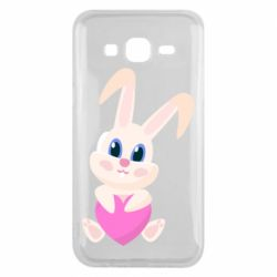Чехол для Samsung J5 2015 Little rabbit with a heart