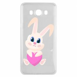 Чехол для Samsung J7 2016 Little rabbit with a heart
