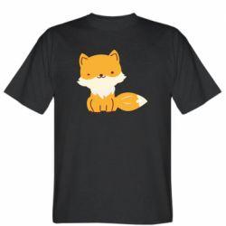 Мужская футболка Little red fox