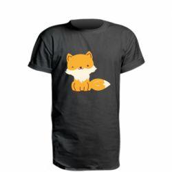 Удлиненная футболка Little red fox
