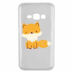 Чехол для Samsung J1 2016 Little red fox