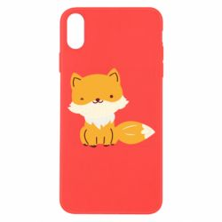 Чехол для iPhone Xs Max Little red fox