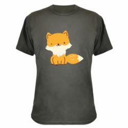 Камуфляжная футболка Little red fox
