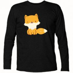 Футболка с длинным рукавом Little red fox