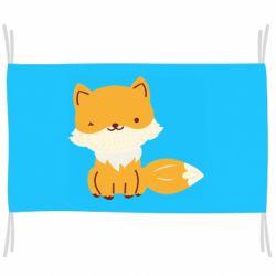 Флаг Little red fox