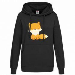 Женская толстовка Little red fox