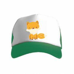 Детская кепка-тракер Little red fox