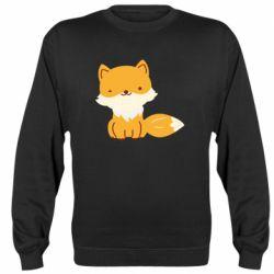 Реглан (свитшот) Little red fox