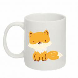 Кружка 320ml Little red fox