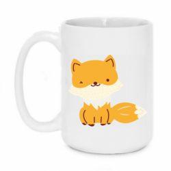Кружка 420ml Little red fox