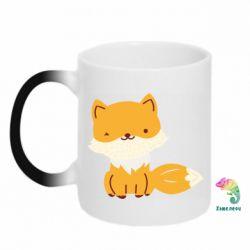 Кружка-хамелеон Little red fox