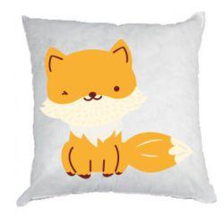 Подушка Little red fox