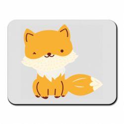 Коврик для мыши Little red fox