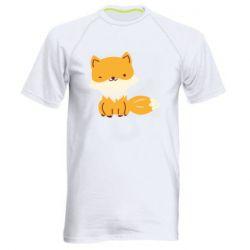 Мужская спортивная футболка Little red fox