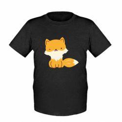 Детская футболка Little red fox