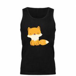 Мужская майка Little red fox