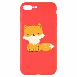 Чехол для iPhone 8 Plus Little red fox