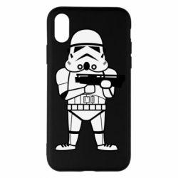 Чохол для iPhone X/Xs Little Stormtrooper