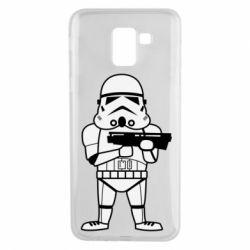 Чохол для Samsung J6 Little Stormtrooper
