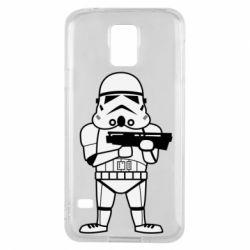 Чохол для Samsung S5 Little Stormtrooper