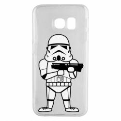 Чохол для Samsung S6 EDGE Little Stormtrooper
