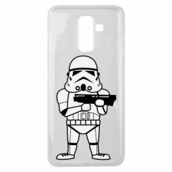Чохол для Samsung J8 2018 Little Stormtrooper