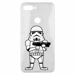Чохол для Xiaomi Mi8 Lite Little Stormtrooper
