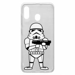 Чохол для Samsung A20 Little Stormtrooper