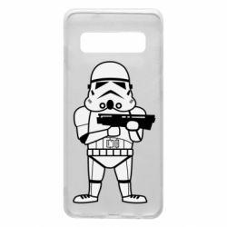 Чохол для Samsung S10 Little Stormtrooper