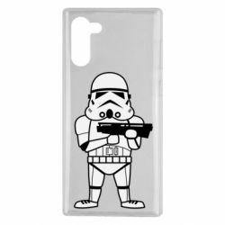 Чохол для Samsung Note 10 Little Stormtrooper