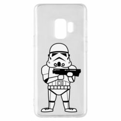 Чохол для Samsung S9 Little Stormtrooper