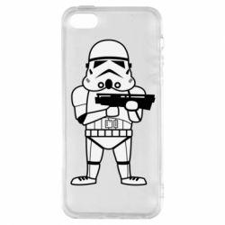 Чохол для iphone 5/5S/SE Little Stormtrooper