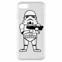 Чохол для iPhone 7 Little Stormtrooper