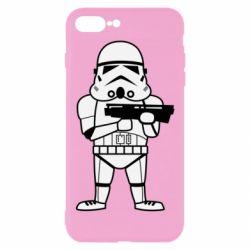 Чохол для iPhone 8 Plus Little Stormtrooper