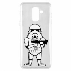 Чохол для Samsung A6+ 2018 Little Stormtrooper