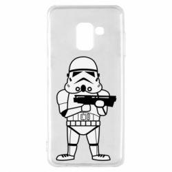 Чохол для Samsung A8 2018 Little Stormtrooper