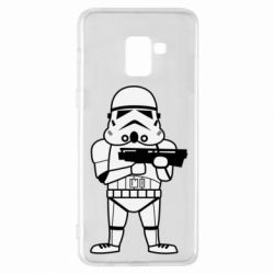 Чохол для Samsung A8+ 2018 Little Stormtrooper