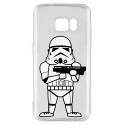 Чохол для Samsung S7 Little Stormtrooper