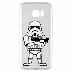 Чохол для Samsung S7 EDGE Little Stormtrooper