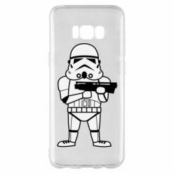 Чохол для Samsung S8+ Little Stormtrooper