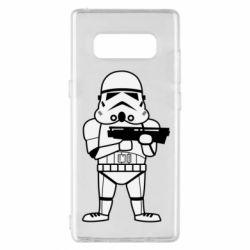 Чохол для Samsung Note 8 Little Stormtrooper