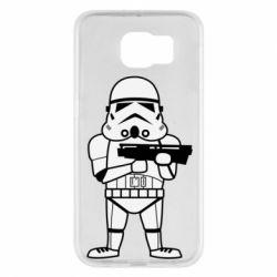 Чохол для Samsung S6 Little Stormtrooper