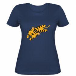 Женская футболка Little striped tiger