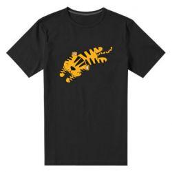 Мужская стрейчевая футболка Little striped tiger