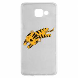 Чехол для Samsung A5 2016 Little striped tiger