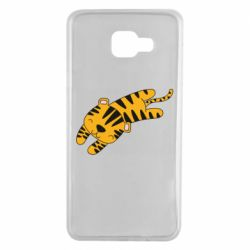 Чехол для Samsung A7 2016 Little striped tiger