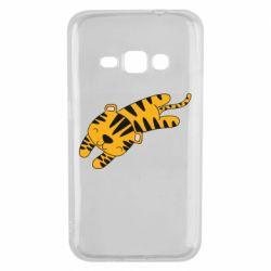 Чехол для Samsung J1 2016 Little striped tiger